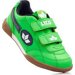 Buty sportowe Lico bonprix zielono-niebieski. Buty sportowe chłopięce marki bonprix. Za 59.99 zł.