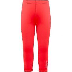 Legginsy w kolorze czerwonym. Legginsy dla dziewczynek marki OROKS. W wyprzedaży za 42.95 zł.