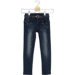 Granatowe Jeansy Final Stage. Niebieskie jeansy dla dziewczynek Born2be, z jeansu. Za 39.99 zł.