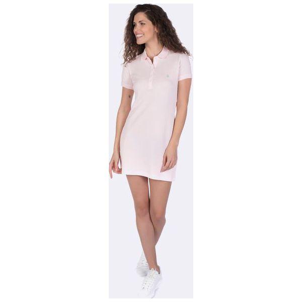 45d767644c4cc5 Giorgio Di Mare Sukienka Damska M Jasnoróżowy - Szare sukienki ...