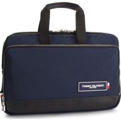 Torba na laptopa TOMMY HILFIGER - Th Patch Slim Computer Bag AM0AM04344 901. Torby na laptopa damskie marki Piquadro. Za 599.00 zł.