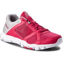 Buty Reebok - Yourflex Trainette 10 Mt CN5653 Rugged Rose/Tin Grey/Wht. Czerwone obuwie sportowe damskie Reebok, z materiału. W wyprzedaży za 159.00 zł.