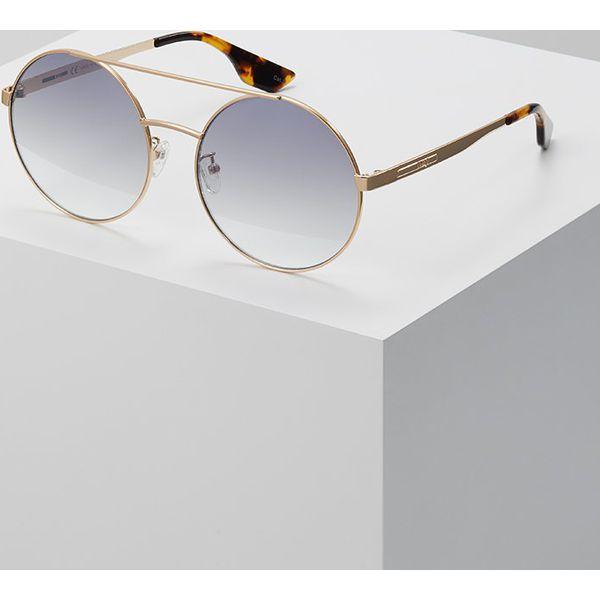 832c59b998870 McQ Alexander McQueen Okulary przeciwsłoneczne goldcoloured ...