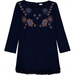Sukienka w kolorze granatowym. Niebieskie sukienki dla dziewczynek Königsmühle, z aplikacjami, z tiulu. W wyprzedaży za 97.95 zł.
