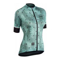 Northwave Koszulka Rowerowa Floreal W Jrsy S/S Green/Forest S. Zielone koszulki sportowe damskie Northwave, z materiału. Za 299.00 zł.