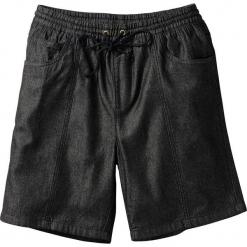 Bermudy z gumką w talii Classic Fit bonprix czarny. Czarne szorty męskie bonprix, wakacyjne. Za 37.99 zł.
