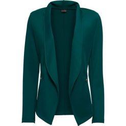 Żakiet shirtowy bonprix głęboki zielony. Zielone żakiety damskie bonprix. Za 124.99 zł.