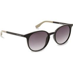 Okulary przeciwsłoneczne BOSS - 0288/S Black 807. Czarne okulary przeciwsłoneczne damskie Boss. W wyprzedaży za 389.00 zł.