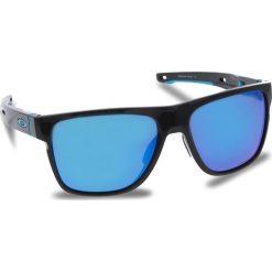 Okulary przeciwsłoneczne OAKLEY - Crossrange XL OO9360-1358 Polished Black/Prizm Sapphire Iridium. Czarne okulary przeciwsłoneczne męskie Oakley, z tworzywa sztucznego. W wyprzedaży za 579.00 zł.