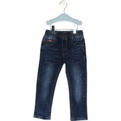 Granatowe Jeansy Inhabit. Jeansy dla chłopców marki Reserved. Za 29.99 zł.