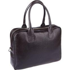 Torba Lindos Brązowa. Brązowe torby na laptopa męskie LANCERTO, w paski, ze skóry. Za 699.90 zł.