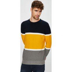 Medicine - Sweter Retro Racer. Brązowe swetry przez głowę męskie MEDICINE, z bawełny, z okrągłym kołnierzem. W wyprzedaży za 79.90 zł.