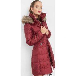 Taliowana kurtka pikowana. Czerwone kurtki damskie Orsay, z poliesteru. Za 199.99 zł.