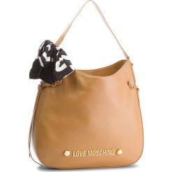 Torebka LOVE MOSCHINO - JC4311PP06KU0201 Cammelo. Brązowe torebki do ręki damskie Love Moschino, ze skóry ekologicznej. W wyprzedaży za 699.00 zł.