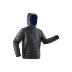 f1a90db2a225dd Kurtka turystyczna zimowa MH500 dla chłopców. Czarne kurtki i płaszcze dla  chłopców QUECHUA, na