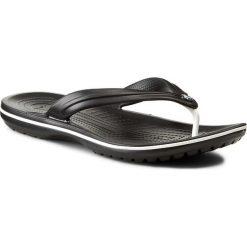 Japonki CROCS - Crocband Flip 11033 Black. Czarne klapki damskie Crocs, z materiału. Za 119.00 zł.