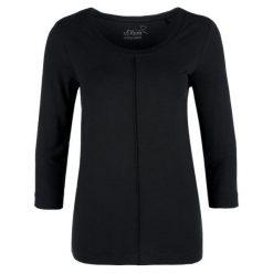 S.Oliver T-Shirt Damski 42 Czarny. Czarne t-shirty damskie S.Oliver. Za 99.90 zł.