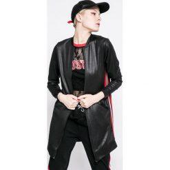 Answear - Bluza Sporty Fusion. Czarne bluzy damskie ANSWEAR, z dzianiny. W wyprzedaży za 79.90 zł.