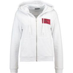 Calvin Klein Jeans HOWARD TRUE ICON ZIP Bluza rozpinana bright white. Kardigany damskie Calvin Klein Jeans, z bawełny. Za 549.00 zł.
