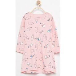 Bawełniana sukienka z nadrukiem - Różowy. Sukienki niemowlęce marki Reserved. W wyprzedaży za 14.99 zł.