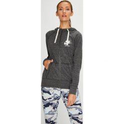 Nike Sportswear - Bluza. Szare bluzy damskie Nike Sportswear, z bawełny. W wyprzedaży za 199.90 zł.