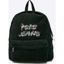 Pepe Jeans - Plecak Cleo. Torby i plecaki dziecięce Pepe Jeans, z bawełny. Za 179.90 zł.