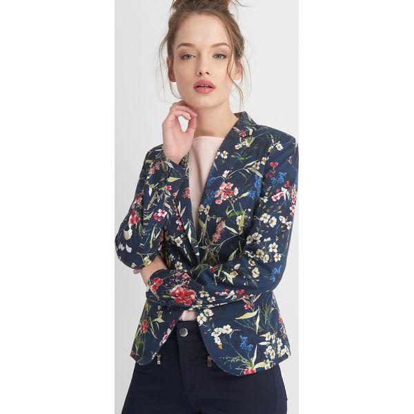 135676d4ca7dd Marynarka w kwiaty - Żakiety damskie marki Orsay, w jednolite wzory ...