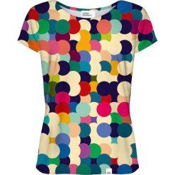 Colour Pleasure Koszulka CP-034  17 biało-granatowa r. XS/S. Bluzki damskie Colour Pleasure. Za 70.35 zł.