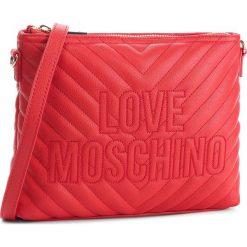 Torebka LOVE MOSCHINO - JC4265PP06KI0500 Rosso. Listonoszki damskie marki Carra. W wyprzedaży za 409.00 zł.