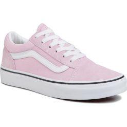 Różowe trampki i tenisówki damskie Vans Kolekcja zima 2020