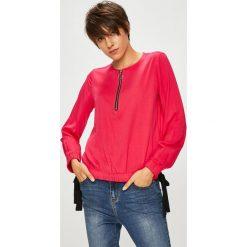 Medicine - Bluzka Royal Purple. Fioletowe bluzki damskie MEDICINE, z materiału, z okrągłym kołnierzem. W wyprzedaży za 49.90 zł.