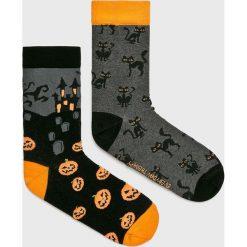 Medicine - Skarpetki Halloween (2-Pack). Czarne skarpety damskie MEDICINE, z bawełny. Za 29.90 zł.