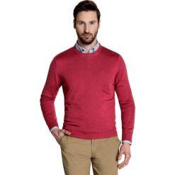 Sweter PIETRO SWTGGxx-0007SP. Czerwone swetry przez głowę męskie Giacomo Conti, z kaszmiru. Za 199.00 zł.