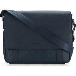 Torba na laptopa 87-4P-501-N. Szare torby na laptopa męskie Wittchen, w paski. Za 359.00 zł.