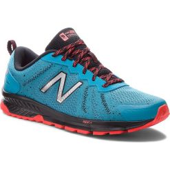 Buty NEW BALANCE - MT590LV4 Niebieski. Niebieskie buty sportowe męskie New Balance, z materiału. Za 299.99 zł.