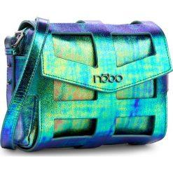 Torebka NOBO - NBAG-E4103-C008 Kolorowy. Niebieskie listonoszki damskie Nobo, w kolorowe wzory, ze skóry ekologicznej. W wyprzedaży za 129.00 zł.