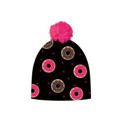 Czapka hauer CAKES. Czarne czapki i kapelusze damskie Hauer, z polaru. Za 69.00 zł.