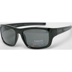 Polaroid - Okulary PLD3012S. Brązowe okulary przeciwsłoneczne męskie Polaroid, z materiału. Za 339.90 zł.