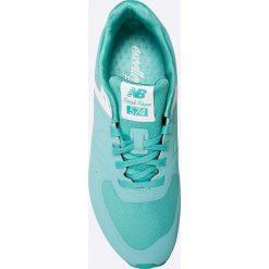 New Balance - Buty. Brązowe obuwie sportowe damskie New Balance, z materiału. W wyprzedaży za 269.90 zł.
