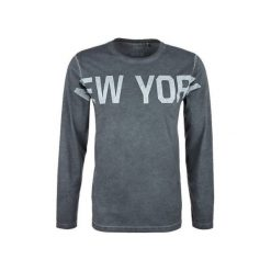 S.Oliver T-Shirt Męski Xl Szary. Szare t-shirty męskie S.Oliver, z napisami, z bawełny, z okrągłym kołnierzem. W wyprzedaży za 93.00 zł.