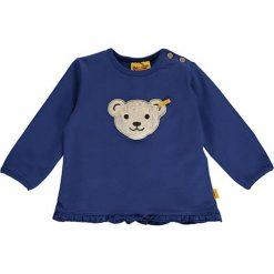 Bluza w kolorze granatowym. Bluzy dla niemowląt Steiff, z aplikacjami. W wyprzedaży za 47.95 zł.