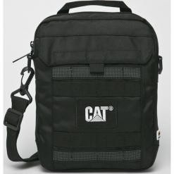 Caterpillar - Torba. Czarne torby na laptopa męskie Caterpillar, w paski, z materiału. Za 159.90 zł.