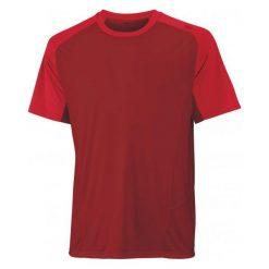 Wilson Koszulka Sportowa M Solana Colorblock Crew Terra Red S. Czerwone koszulki sportowe męskie Wilson, ze skóry. W wyprzedaży za 96.00 zł.