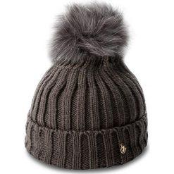 Czapka TRUSSARDI JEANS - Hat Pon Pon Knitted 59Z00007  E151. Szare czapki i kapelusze damskie TRUSSARDI JEANS, z jeansu. W wyprzedaży za 179.00 zł.
