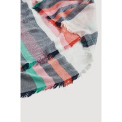 Mango - Szal Vizcaya. Szare szaliki i chusty damskie Mango, z tkaniny. W wyprzedaży za 39.90 zł.