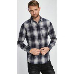 Jack & Jones - Koszula. Szare koszule męskie Jack & Jones, w kratkę, z bawełny, z klasycznym kołnierzykiem, z długim rękawem. W wyprzedaży za 99.90 zł.
