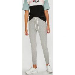 Roxy - Spodnie. Szare spodnie materiałowe damskie Roxy, z bawełny. W wyprzedaży za 159.90 zł.