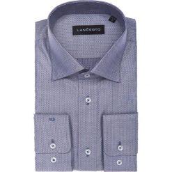 Koszula Freya. Szare koszule męskie LANCERTO, w geometryczne wzory, z bawełny. W wyprzedaży za 149.90 zł.
