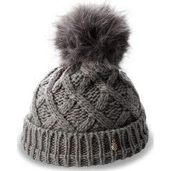 Czapka TRUSSARDI JEANS - Hat Knitted Pon Pon 59Z00003  E151. Szare czapki i kapelusze damskie TRUSSARDI JEANS, z jeansu. W wyprzedaży za 199.00 zł.