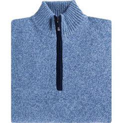 Sweter FILIPPO SWNR000115. Brązowe swetry przez głowę męskie Giacomo Conti, z tkaniny, ze stójką. Za 199.00 zł.